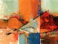 09 - She 24 x 36 Mixed media on canvas