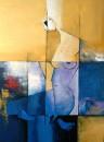 Serene 01 36 x 48 Mixed media on canvas