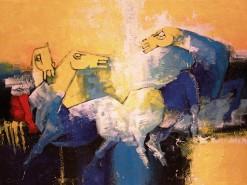 Horses 36 x 48